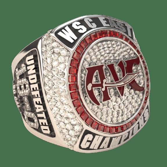 Antelope Valley Basketball Division Champions Ring